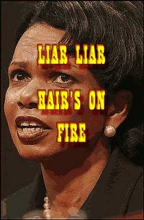 condi rice is a liar rice lied about warning condaleeza lied forgot liar