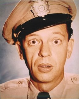 Harry Reid = Barney Fife?