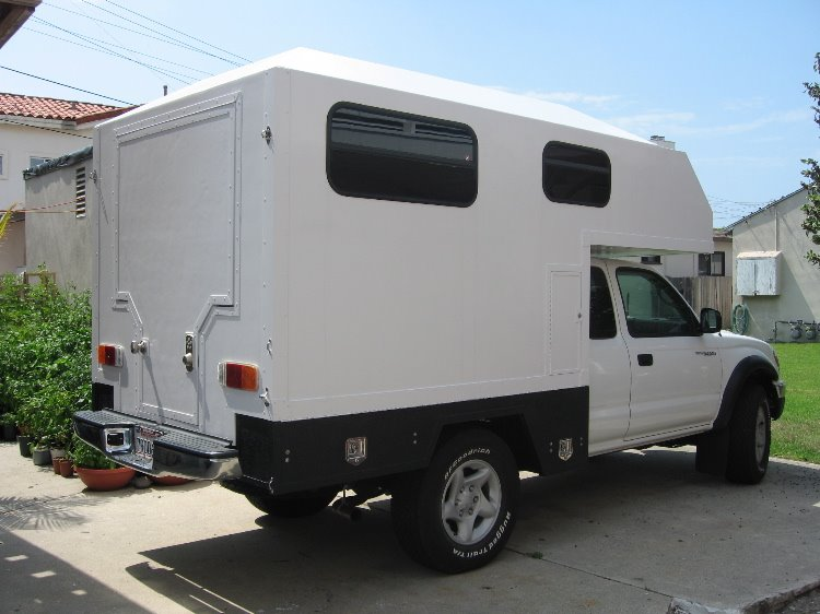 diy-pickup-truck-camper Images - Frompo - 1