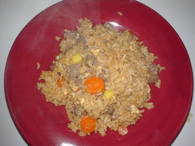 ARF/5-A-Day Tuesdays: Tropical Fried Rice