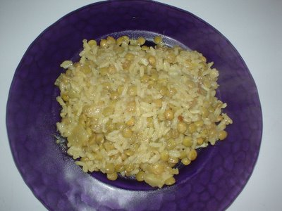 Curried Rice and Lentil Pilaf