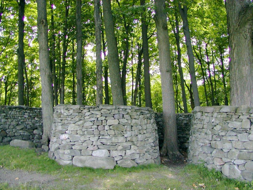Andy Goldsworthys Walls Secret Garden