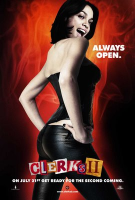 The Rosario Dawson Clerks II Poster