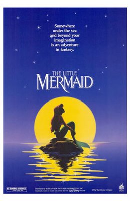 Movie poster for the Little Mermaid...my #3 movie poster of all time.