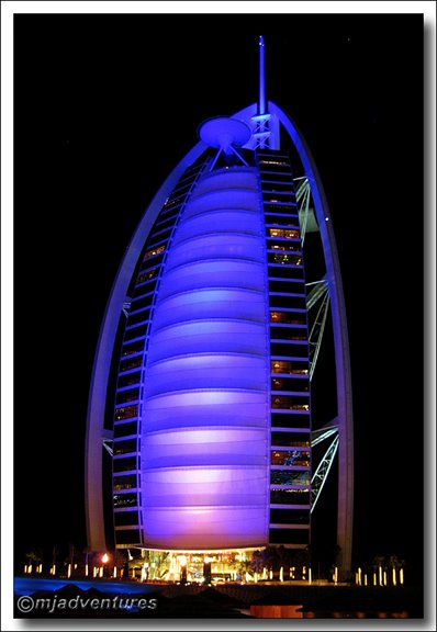 The only 7 star hotel in the world m and j adventures for Dubai 7 star hotel name