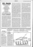 Editorial del diario El País al día siguiente por la que se congratula del resultado obtenido