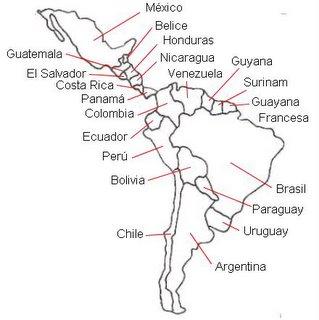 Los países de la América latina