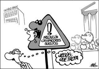 Viñeta de Forges, el genial dibujante humorístico del diario El País. Gracias por tu siempre ingeniosa picardía