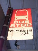 A piece of history.  Route 620 ceased over 20 years ago.  (Koornang Rd near Dandenong Rd)