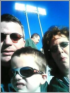Family at the Game