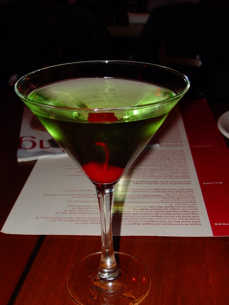Green Apple Martini Recipe — Dishmaps
