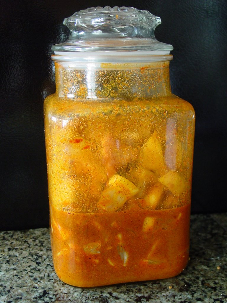 indian food rocks lemon pickle without oil picture