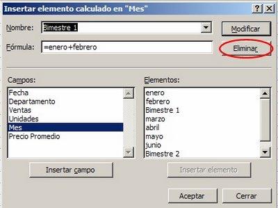 Excel tablas dinamicas