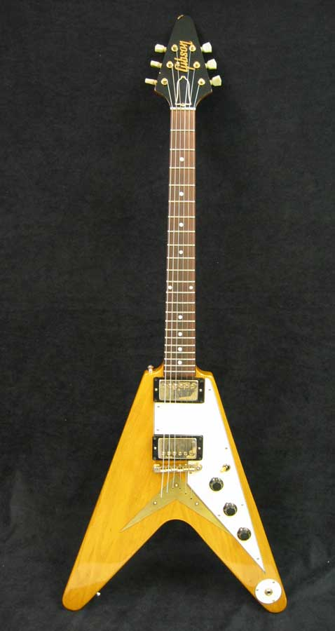 Vintage HARMONY Flying V Solid Body Electric Guitar