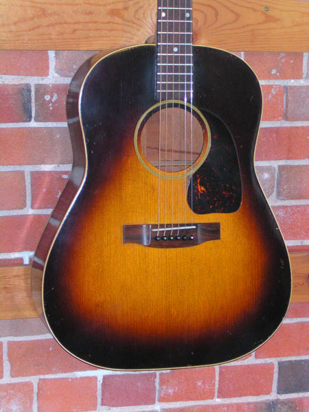 gibson j-45 deluxe serial number