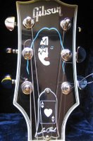 gibson ace frehley les paul guitar