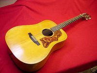 1972 gibson gospel acoustic guitar