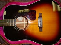 gibson j 30 acoustic flat top guitar