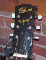 gibson j45 headstock banner