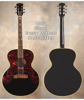 1963 gibson everly brothers guitar