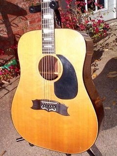 1970 gibson heritage flat top acoustic guitar