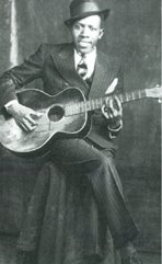 robert johnson playing the l-1 guitar