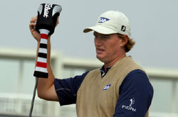 Ernie Els Plays Titleist
