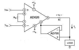 Precision Voltage To Current Converter
