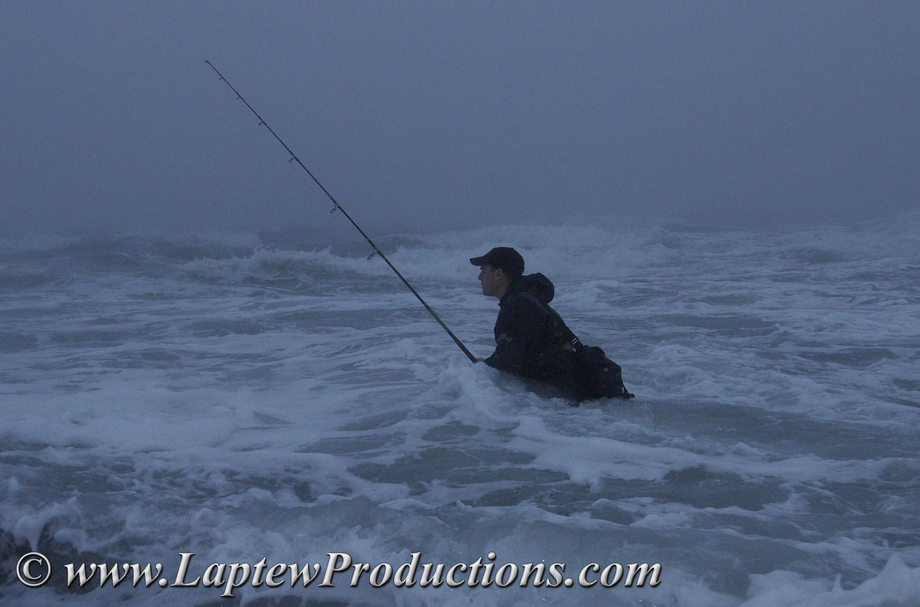 Laptew productions june 2006 for Surf fishing waders