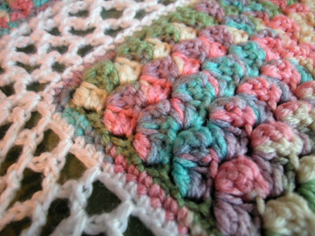 Crochet Patterns Using Thread : The Crochet Dude - free patterns: Monet Afghan