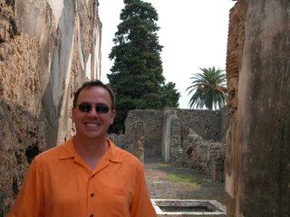 Drew in Pompeii