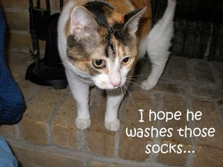 I hope that's your sock I smell...
