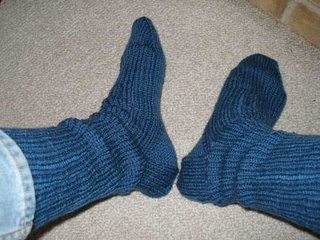 Slouch Socks are sooo 80's!