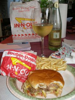 In & Out, it's what's for dinner...