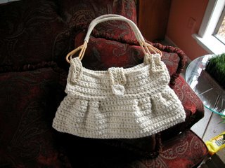 Suede purse by The Crochet Dude(tm)