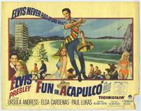 Fun in Acapulco poster