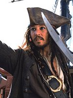 Johnny Depp, pirate
