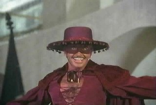 Zorro in plum