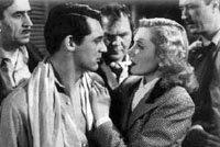 Cary Grant and Jean Arthur