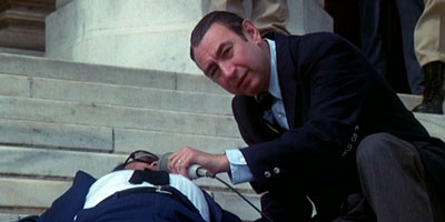 Howard Cosell and corpse