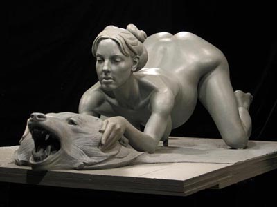 Britney sculpture