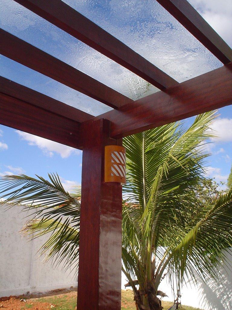 seixos para jardim porto alegrePergolado Coberto De Vidro Com Espelho