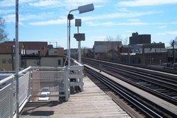 Diversey brown line stop