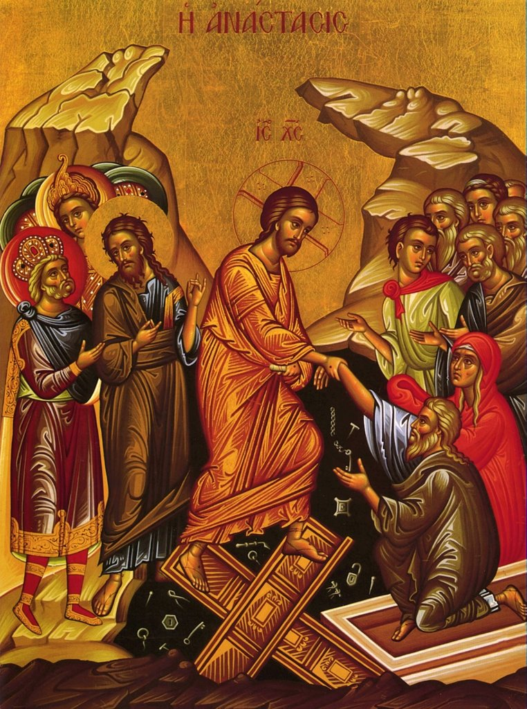 #36 – A Video Visit to the Icon Corner – Easter Sunday Russian Resurrection Icon