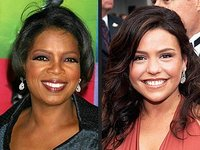 Oprah Winfrey and Rachael Ray