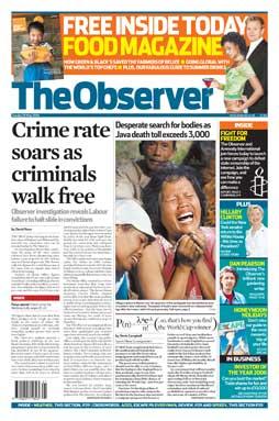 Sunday's Observer