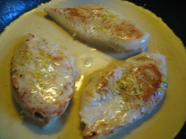 Chez Mgane Lemon Chicken