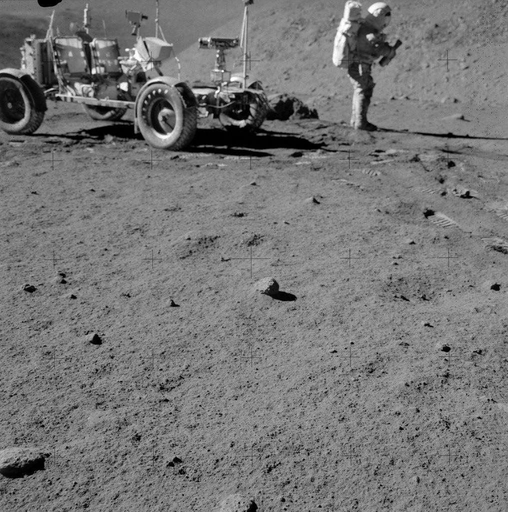 apollo tracks on moon - photo #26