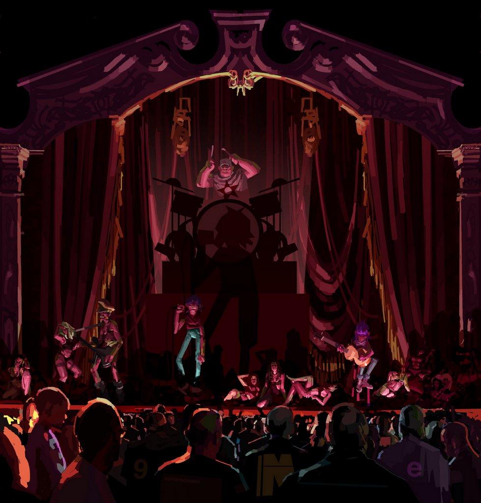 Madonna Grammys 2006 Gorillaz Madonna Grammys