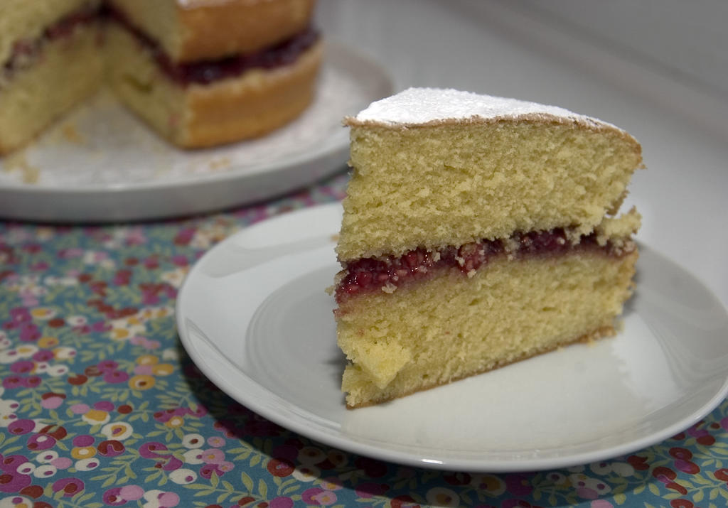 Nigella Victoria Sponge Cake Recipe Corn Flour